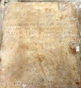 Shakespeare's_grave_epitaph